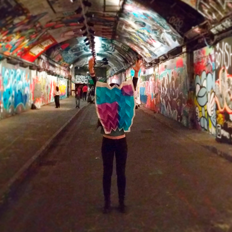 Urban Paper Dance en Londres