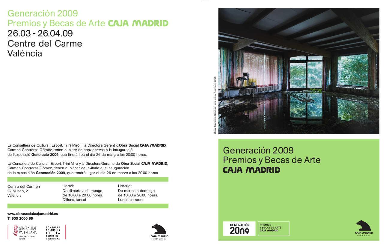 invitacion expo generacion 2009 valencia