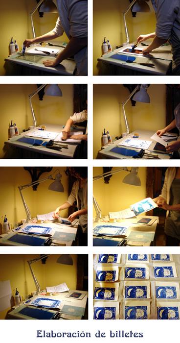 Proceso de elaboración de los billetes