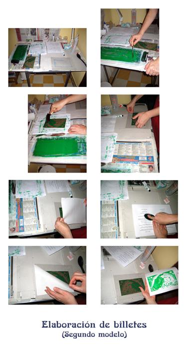 Documentación proceso de impresión segundo modelo billetes