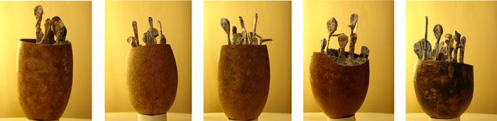 Serie Seres Nido obra Pilar Barrios