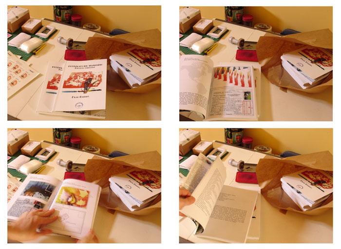 Foto Documentación terminados libro POSTALES EN TRÁNSITO