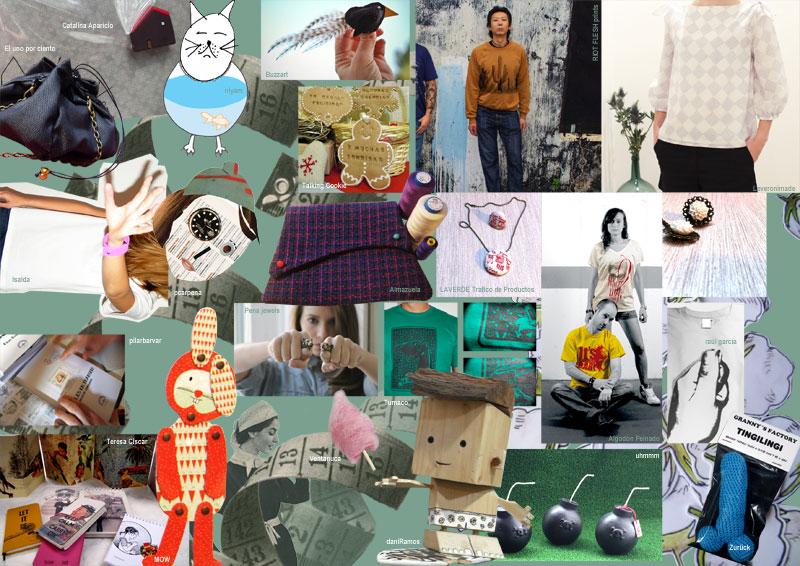 Postales en tránsito en Exposición La Memé / Mercado de nuevos creadores