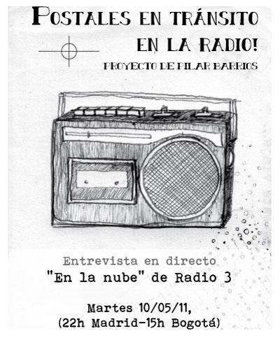Imagen del podcast entrevista Pilar Barrios En la nube de Radio 3