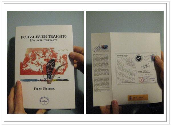 Reverso postal promocional 03 proyecto Postales en tránsito