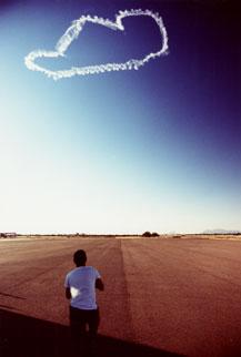 Imagen de la obra Pictures of clouds, de Vik Muniz