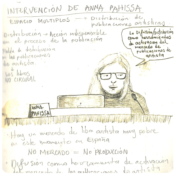 Ilustración ponencia Anna Pahissa - MUSAC