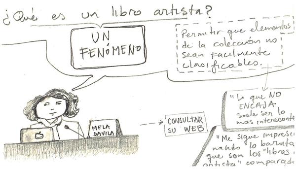Ilustración de ponencia Mela Davila-MUSAC