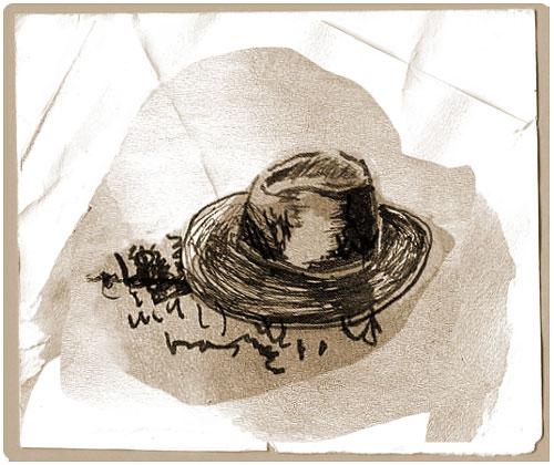 Ilustracion de PilarBarrios para el libro: Lagrimas por un muerto