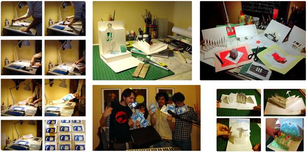Procesos artísticos elaborados en taller de PilarBarrios