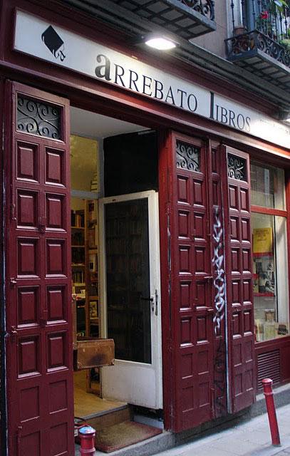 Fachada de Libreria Arrebato Libros