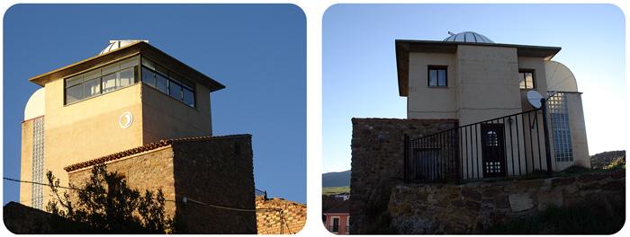 Observatorio astronómico Castillo de Borobia